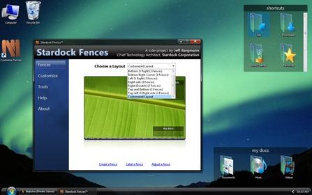 Desktop Fences