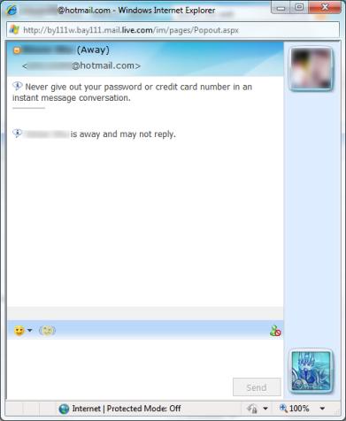 Latest Windows Live Web Messenger – IM anywhere without
