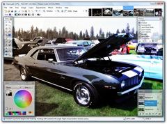 Screenshot of paint.NET