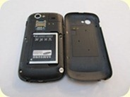 Google Nexus S - Back