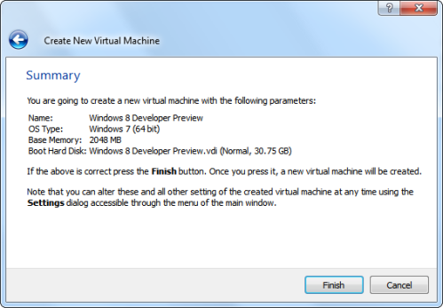 Summary of Virtual Machine