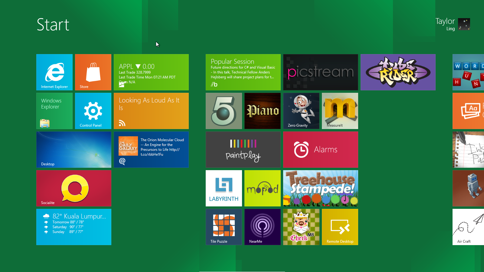 windows 8 start screen Full Resolution Windows 8 Developer Preview in VirtualBox [How To]