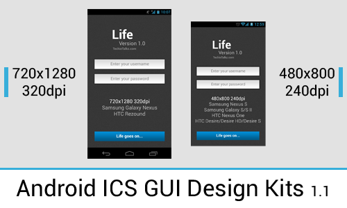 ics ui template techie talkz