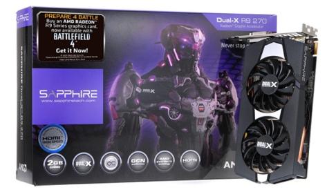 R9 270X OC D5 2GB Dual-X
